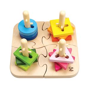 Bestes Kreativspielzeug Hape Steckpuzzle